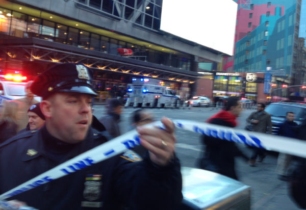 Blast at NY  bus terminal