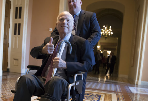 McCain feeling well, returning after holidays