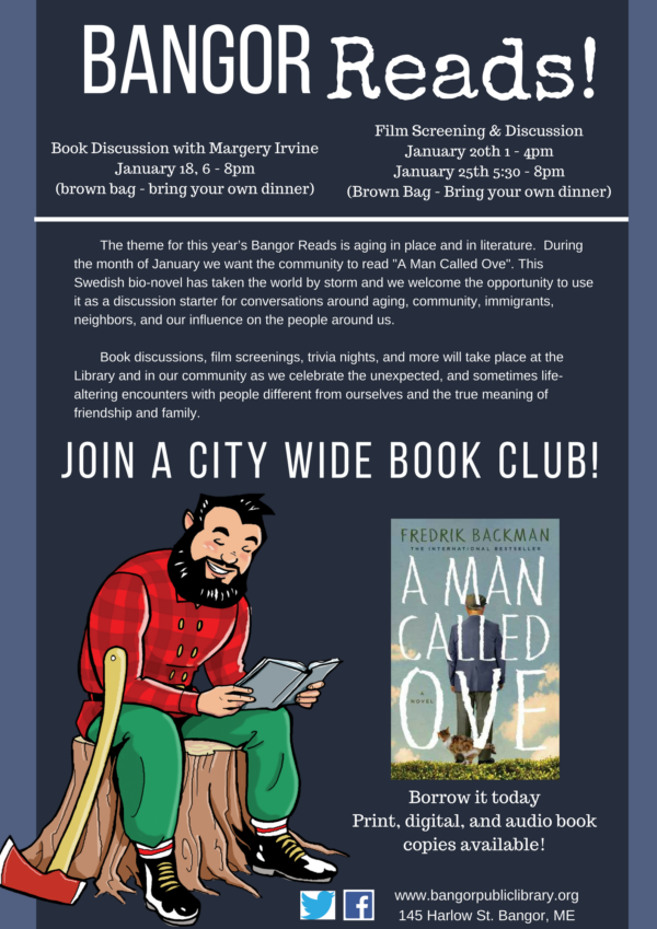Bangor Reads To Feature A Man Called Ove User Submitted