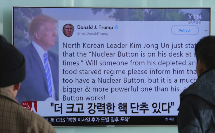Under Trump The Threat Of Nuclear War Is The New Normal The