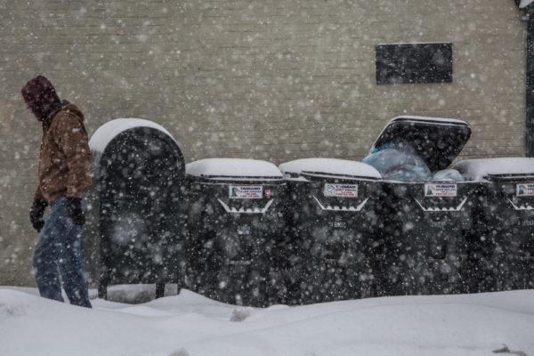 United States east coast hit with sub-zero wind chill hitting -34C