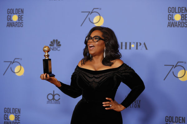 Watch Oprah's Powerhouse Globes Speech Condemning Sexual Predators: 'Their Time is Up!'