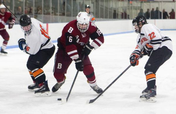ME H.S.: Boudreau, Brown Lead Bangor Hockey Team Past Edward Little