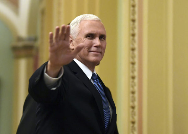 Pence tells troops overseas 'you deserve better' than a shutdown