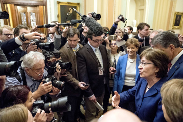 Senator Collins Ends Government Shutdown with a Talking Stick