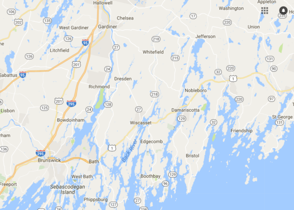 Maine Town Adds Earthquake Measuring Tool Amid Series Of Temblors - Google maps maine