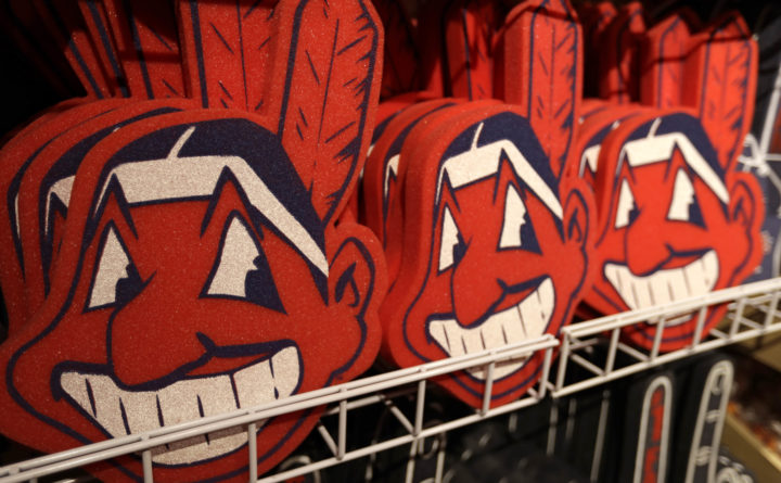newest eaae1 dd46b Cleveland Indians dropping Chief Wahoo logo from uniforms ...