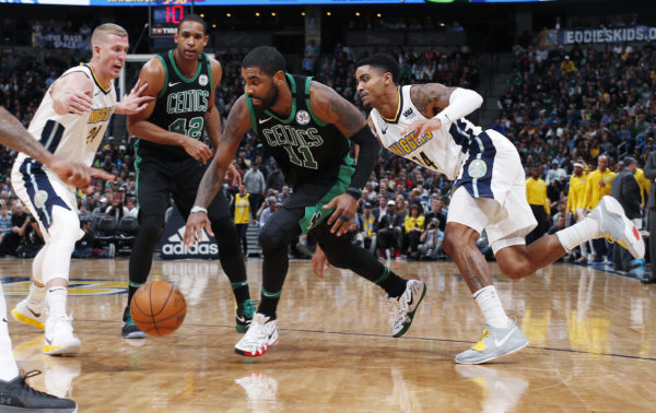 National Basketball Association wrap: Kyrie Irving leads Celtics in thriller over Nuggets