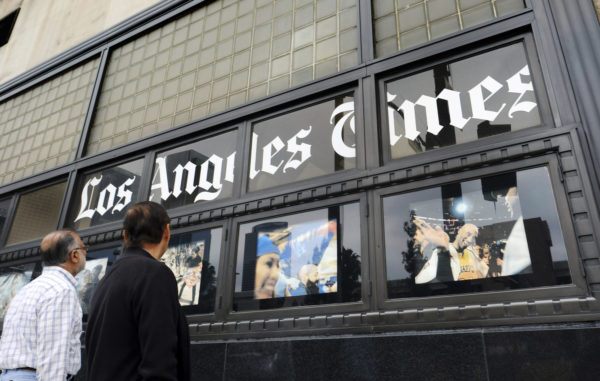 Tronc Close to Selling LA Times to Billionaire Patrick Soon-Shiong