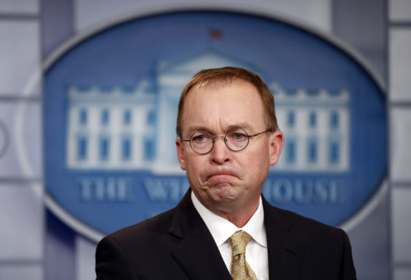Mulvaney says Trump budget will have money for wall