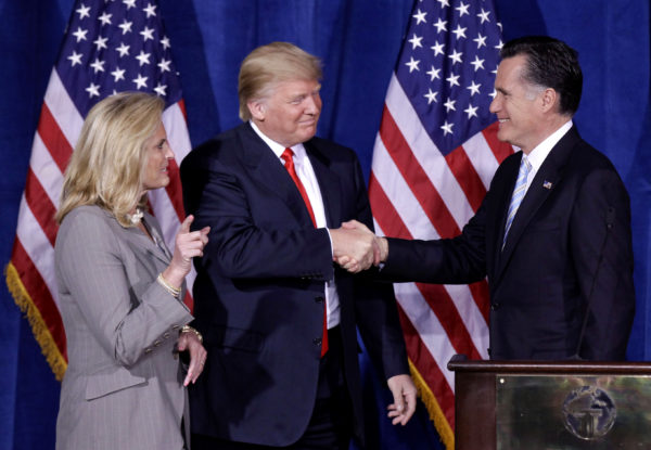 Trump endorses Romney's Senate bid _ and Romney accepts