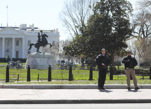 White House on Lockdown, Surrounding Area Cordoned Off, After Shots Fired