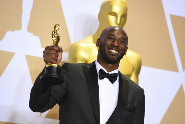 National Basketball Association  star Kobe Bryant wins an Oscar - but not everyone is happy