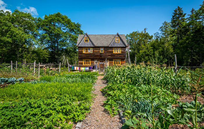 Tour Of The Deer Isle Hostel Homesteading In The 21st Century