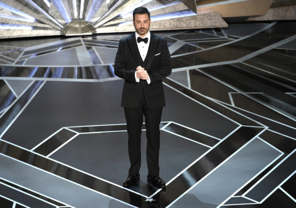 Jimmy Kimmel burns Donald Trump after Oscars rating joke