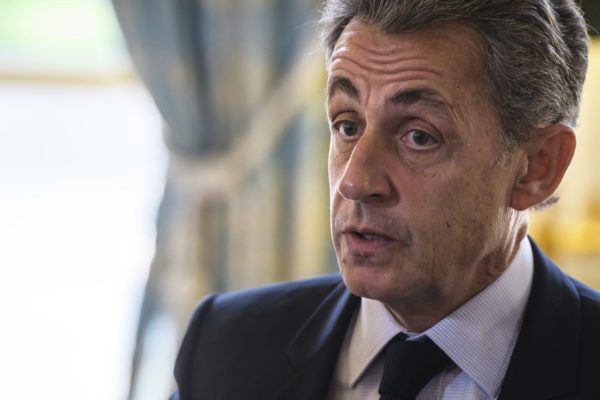 Ex-French President Sarkozy held for questioning