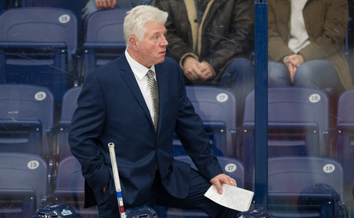 ec0d5d7d1 UMaine men s hockey coach signs two-year contract extension ...