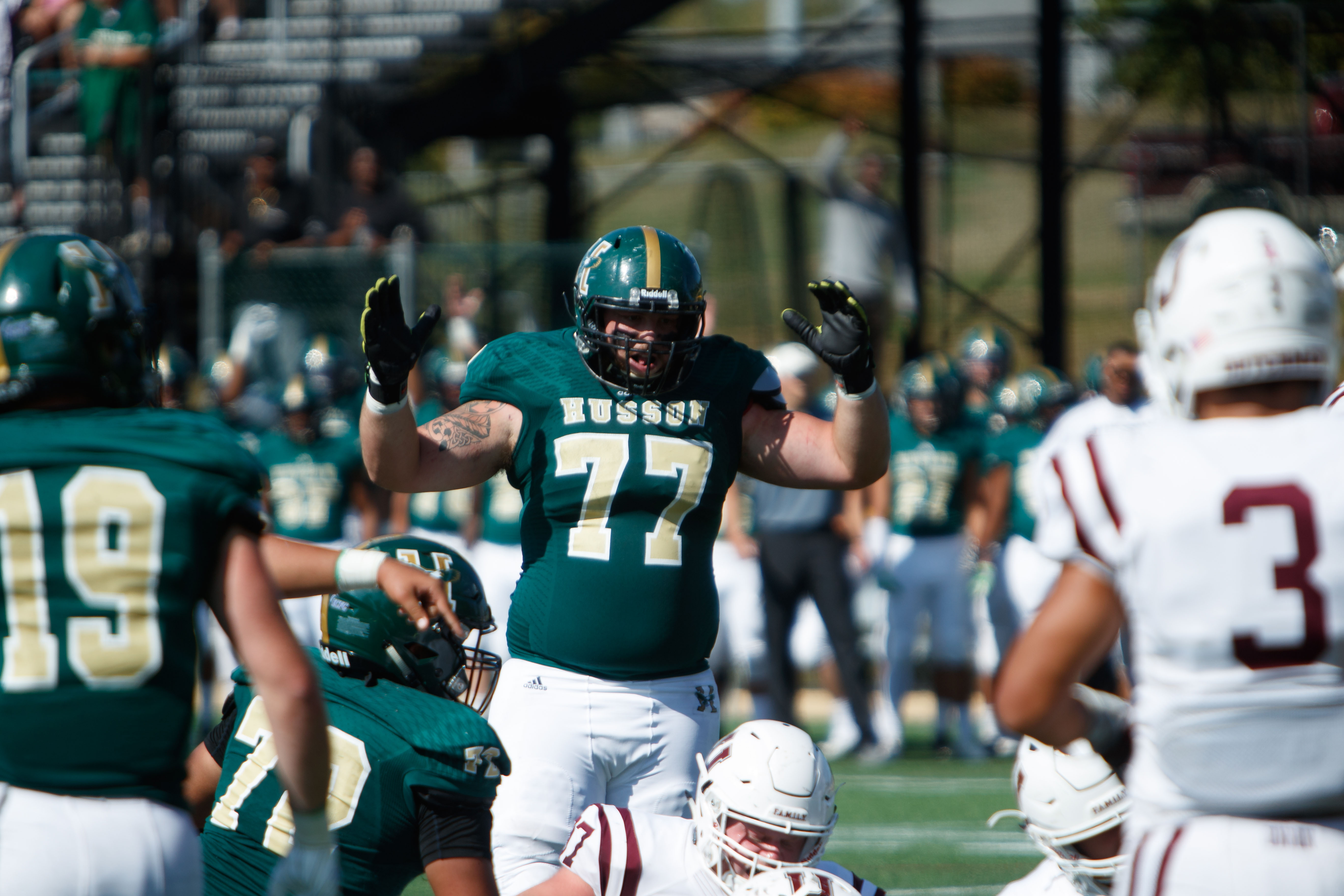 At Long Last Husson Football Team Has Another Maine School On Its