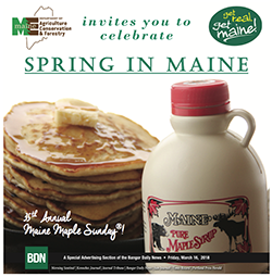 ME Dept. of Agriculture presents Springtime in Maine: a Guide to Spring Events