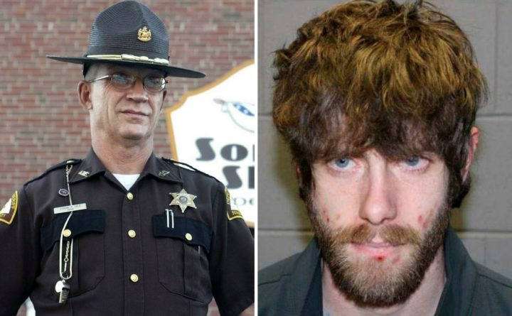 Slain deputies handcuffs used in arrest in Maine