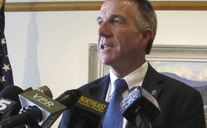 Vermont's GOP governor signs tougher gun control bills