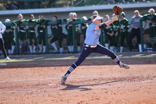 Umaine Softball Pitcher Shines After Suspension Last Spring For