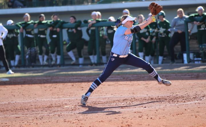 Umaine Softball Pitcher Shines After Suspension Last Spring