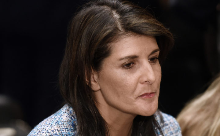 White House walks back statement from Nikki Haley on Russian sanctions