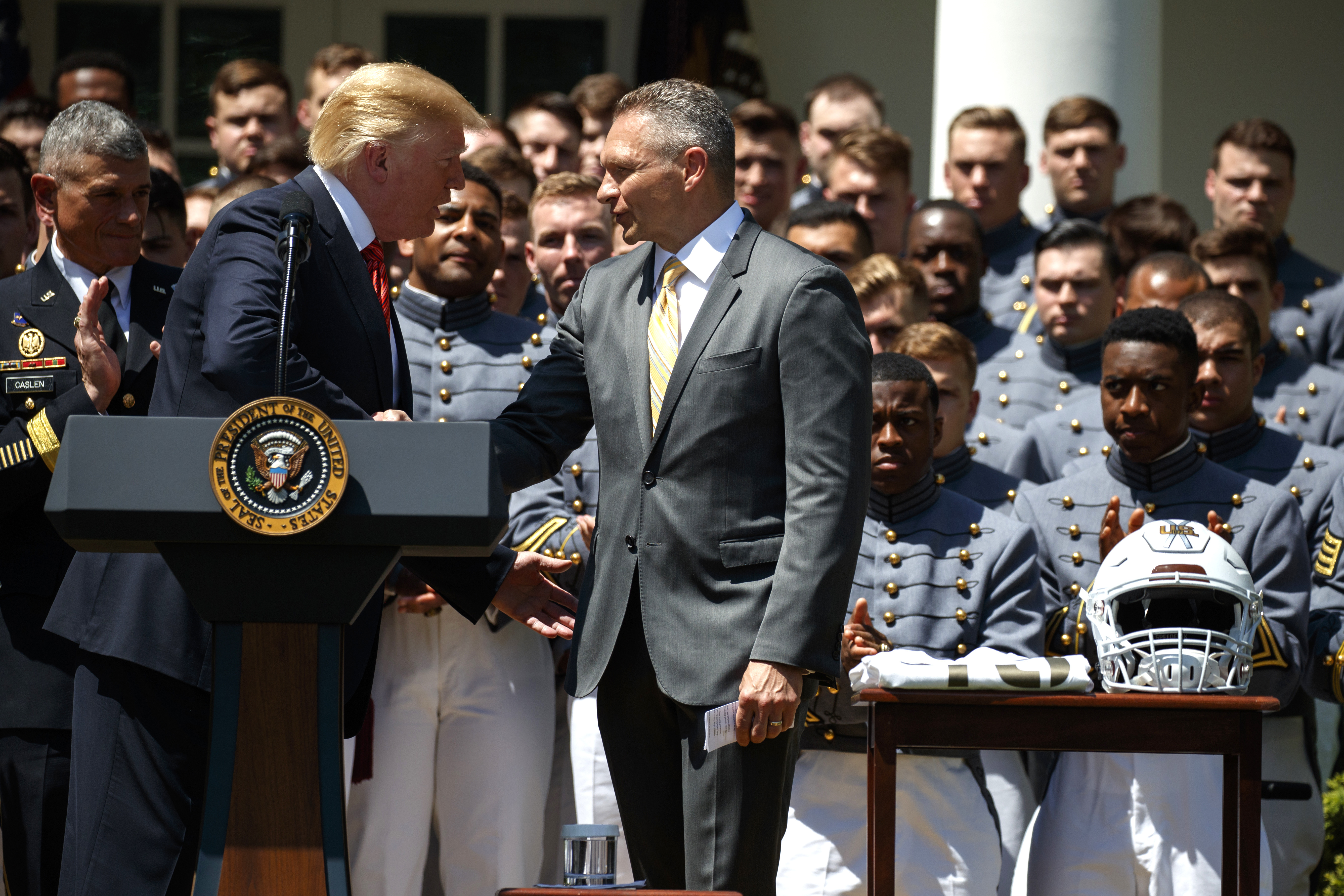 Trump raises the specter of a Space Force as he congratulates the Army s  football team — National Politics — Bangor Daily News — BDN Maine bff683cd0