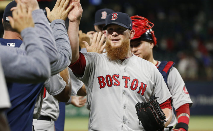 Red Sox rally over Rangers; Craig Kimbrel quickest to 300 career saves