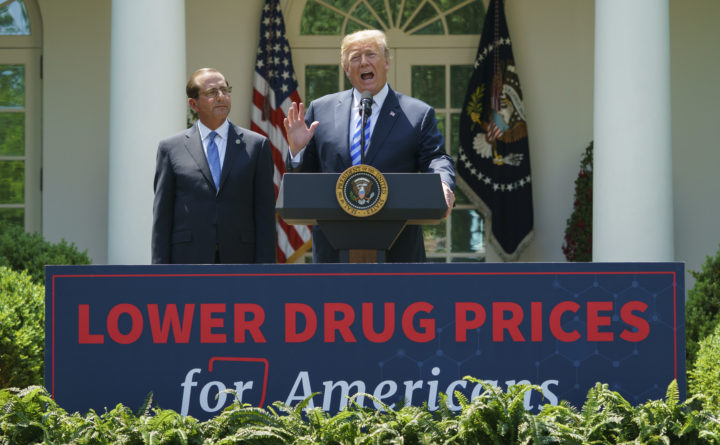 PhRMA opposed to parts of Trump's drug pricing plan