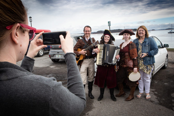 Hear these scurvy dogs make music for walking the plank
