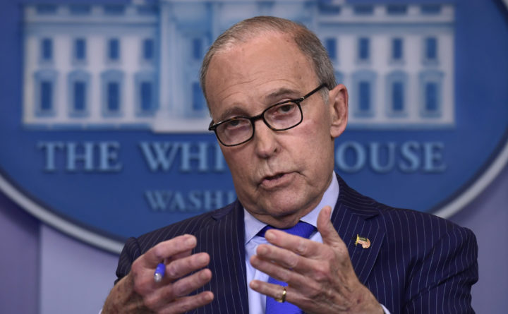 Donald Trump says top economic adviser Larry Kudlow suffers heart attack