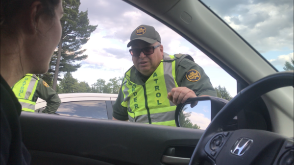 Border patrol agents arrest 1 at I-95 checkpoint about citizenship
