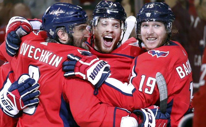 Capitals on verge of Stanley Cup after blowing out Golden Knights