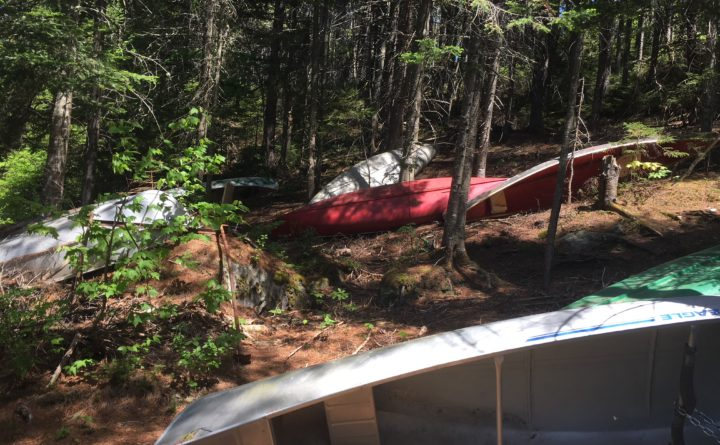 Here's what Mainers think about stashed canoes on remote