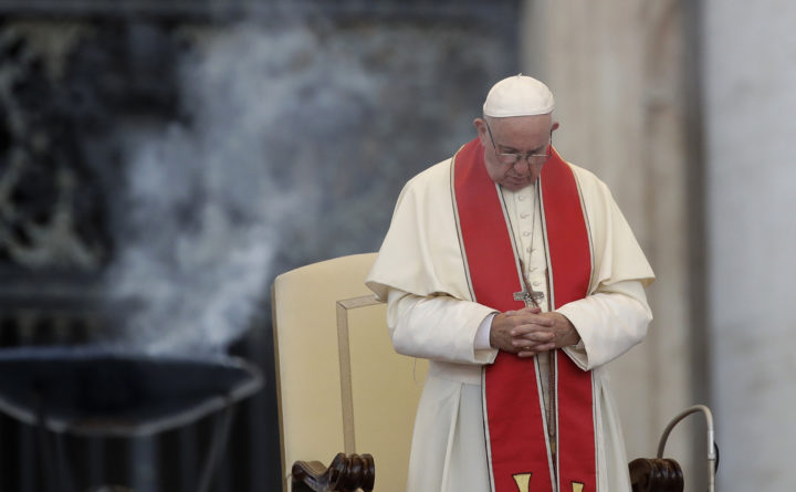 Pope declares death penalty inadmissible, changing Church's stance