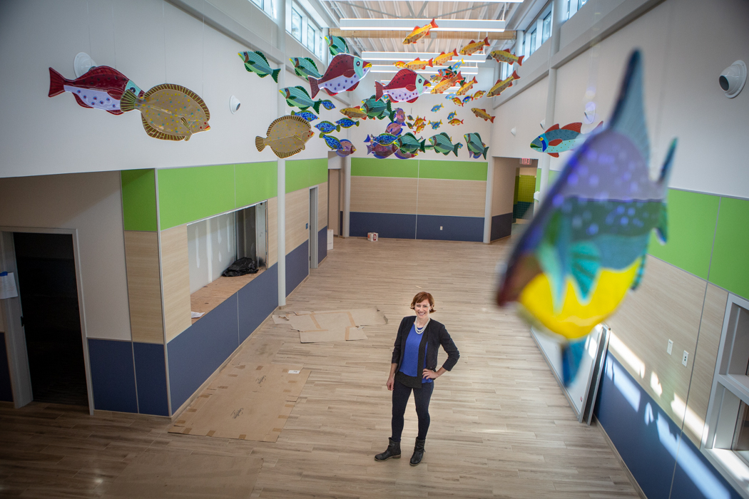 opening of new portland school the first of 5 major rebuilds