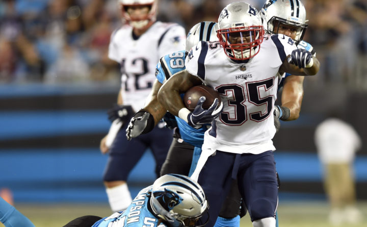Ex-Patriots RB Gillislee to sign with Saints