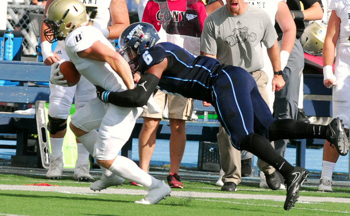 Umaine Football Team Overcomes 21 Point Deficit To Stun Western