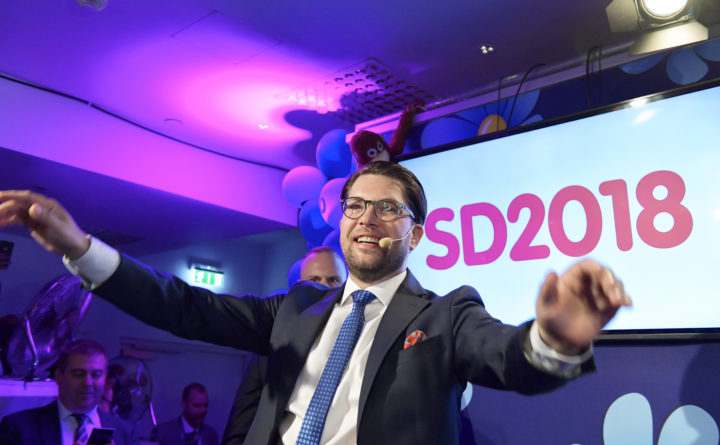 Complex coalition talks faces Sweden after far-right gains