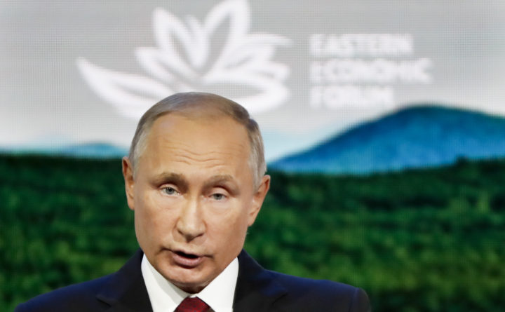 Vladimir Putin: 'nothing criminal' about novichok suspects