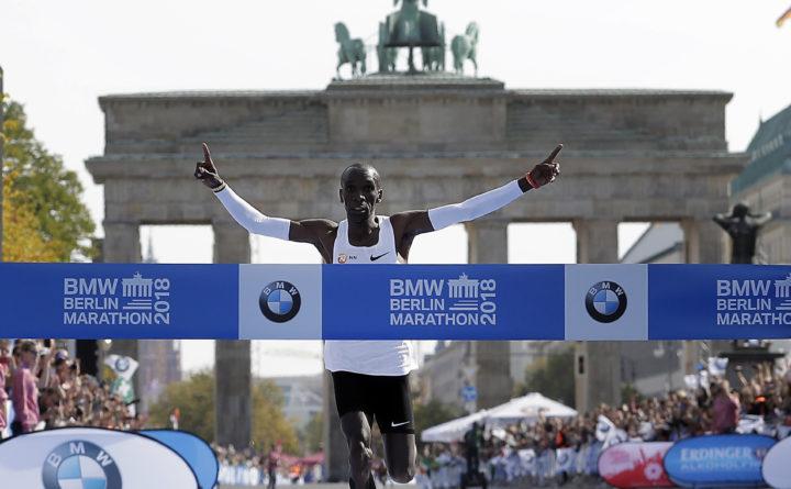 12364d2e8 Kenyan sets marathon world record  decathlon mark also falls ...