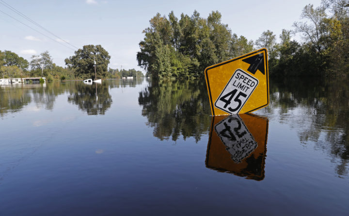 North Carolina floods producing variety of health risks