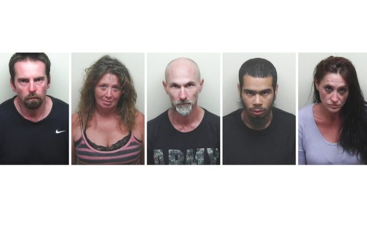 5 people arrested in Bucksport drug bust — Hancock — Bangor Daily