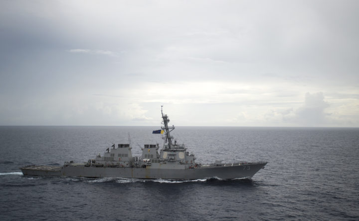 China condemns USA for South China Sea freedom of navigation operation