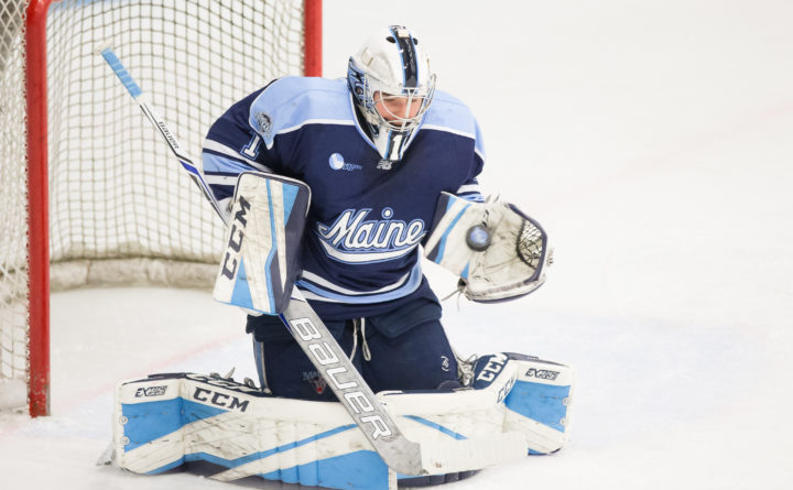 Hockey East: The Puck Stops Here - UMaine Goalie Works On Consistency In Pursuit Of More Hockey Victories