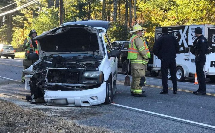 Windham crash ties up rush hour traffic — Portland — Bangor