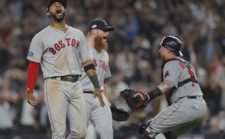 Major League Baseball announces start times for Red Sox-Astros ALCS games