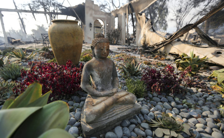 Grim search for dead as California fires rage